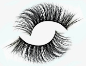 False Eyelashes 1 Pair 100% Fur Real Long Thick Authentic Mink 3D Natural False Eyelashes-34