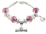 Graduate Graduation Charm Bracelet with Gift Box Women's Jewellery