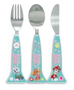 Paw Patrol Girls shaped Cutlery Set