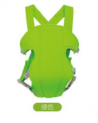 Hivel 3 in 1 Breathable Baby Backpack Front and Back Baby Safety Carrier Infant Comfort Sling Wrap Harness Hip Seat Carrier Can Bear More Than 20KG - Green