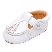 Baby Unisex Suede Tassel Moccasins Shoes US 3