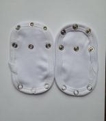 Dtailz Baby Vest / Bodysuit Extender Adjustable Length X 2
