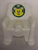 White Baby Potty Training Seat Chair Potty Trainer With Removable Potty Pot