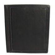 Piel Leather Three-Ring Binder Folder