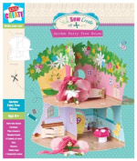 Anker Make Your Own Garden Fairy Tree House Craft Kit, Plastic, Multi-Colour