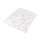 Binmer(TM) 100pcs Clear Disposable Plastic Shower Bath Caps for spa Hair Salon For Hotel/Home Use