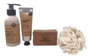 Tuscan Hills Selected Scents Vanilla Almond Body Care Set
