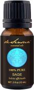 Sage Oil, Dalmation, 100% Pure Essential Oil, 15 mL