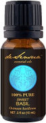 Basil Essential Oil, 100% Pure - Aromatherapy And Massage, 15 ml