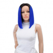 7A 150 Density Brazilian Human Hair Wigs Bob Wigs For Women Short Hair Lace Front Wigs