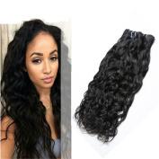 Ms Mary Hair Water Wave Human Hair Mixed Length 50cm 50cm 60cm 100 Unprocessed Human Hair Bundles Malaysian Virgin Hair 3 Bundles 6a Grade Unprocessed Hair Bundle 1B Natural Colour Hair