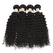 YAMI Brazilian Virgin Hair 7A Unprocessed Brazilian Curly Virgin Hair Deep Wave Black Wavy Virgin Brazilian Hair Weave Natural Colour 3 Bundles