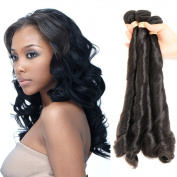 Allrun 7A Peruvian Hair twist Body Wave Human Hair Weave 1pc Peruvian twist body human Hair with bundle natural