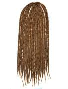 Stepupgirl 60cm Pure Light Brown Colour Afrika Amerika Crochet Small Dirty Carney Karen Braid Box Hair
