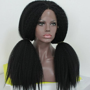 PlatinumHair big YaKi silky straight wigs synthetic lace front wigs heat resistant synthetic wigs 60cm