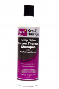 Nzuri Kra-Z Hair Gro Scalp Detox Carbon Therapy Shampoo 350ml Bottle