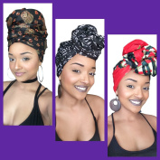 The Michelle African Headwrap Collection