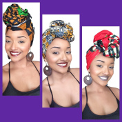 The Hannah African Headwrap Collection