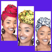 Corporate Diva African Headwrap Collection
