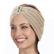KYS Kappa Delta Sorority Cable Knit Bow Headband