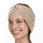 KYS Alpha Xi Delta Sorority Cable Knit Bow Headband
