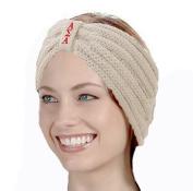 KYS Alpha Sigma Alpha Sorority Cable Knit Bow Headband