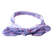 Academyus Baby Girl Newest Turban Headband Head Wrap Knotted Hair Band