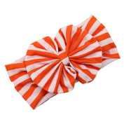 Magic Finger Baby Girl Newest Stripe Bowknot Turban Headwrap