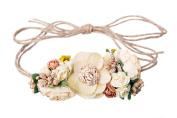 Mini Floral Headband Bohemian Style Formal Head Wear Garland One Size Fits All