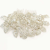 High Quality Austrian Crystal Wedding Prom Bridal Headband Hair Comb