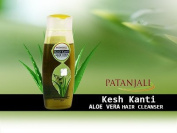 Patanjali Kesh Kanti Aloe Vera Hair Cleanser 200 ML.