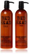 Tigi Bed Head Oil Infused Colour Goddess 750ml Duo