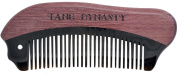 TANG DYNASTY® No Static 100% Handmade Natural Fish Violet Wood OX Horn comb With Gift Box 030
