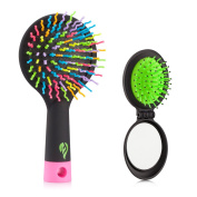 Flend Detangling Hair Brush - Rainbow Comb Pairs for Adults & Kids - Detangle Hair Easily With No Pain