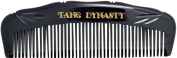 TANG DYNASTY® No Static 100% Handmade Natural Fine Black Ox Horn Comb bamboo With Gift Box 019