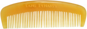 TANG DYNASTY® No Static 100% Handmade Natural Fine yellow Ox Horn Comb With Gift Box 006