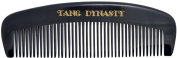 TANG DYNASTY® No Static 100% Handmade Natural Fine Black Ox Horn Comb With Gift Box 002