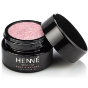 Rose Diamonds Lip Exfoliator - USDA Certified Organic - 100% Natural - Cruelty Free - Made in USA - Henné Organics