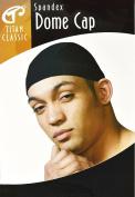 Titan Classic Spandex Dome Cap (BLACK), #11162