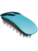 ikoo home metallic collection - detangling brush - black bristle