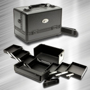 ZEN Deluxe Black Makeup Case / Organiser / Cosmetic Case