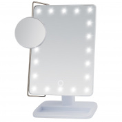Miss Sweet Led Tabletop Makeup for Cosmetic 10X,7*25cm