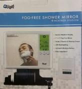 Fog-Free Shower Mirror + Weather Station