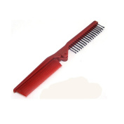 JXULE Fashion Salon Anti-Static Combing Folding Hairdressing Hair Brush Comb