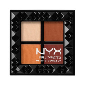 NYX Cosmetics Full Throttle Shadow Palette Colour Riot