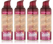 (4 Pack) Maybelline New York Instant Age Rewind The Lifter Makeup, Honey Beige, 1 Fluid Ounce