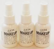 Ulta Cosmetics Makeup Setting Spray Mini Travel Size 30ml Lot of Three
