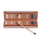 Docooler 12 Colours Makeup Eyeshadow Palette Set Cosmetic Eye Shadow Shimmering & Matte + Facial Make Up Brush