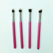 4Pcs Euro-American Stylish Eye Cosmetic Brush Set