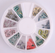 Nails Gaga 3d Nail Art Tips/ Fimo Slice/Glitters Rhinestones Beads Wheel / Nails sticker / Fimo leaves by Nails gaga